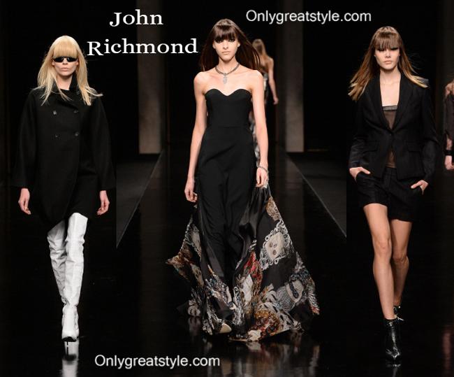 John Richmond fall winter 2014 2015 womenswear fashion