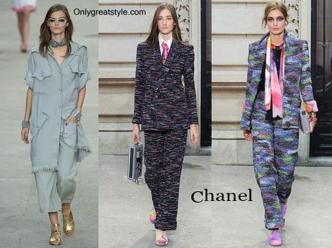 Chanel spring summer 2015 womenswear fashion clothing