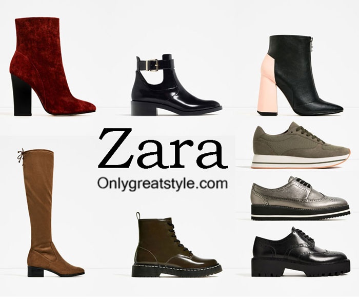 Zara Flat Leather Shoes With Bow Size