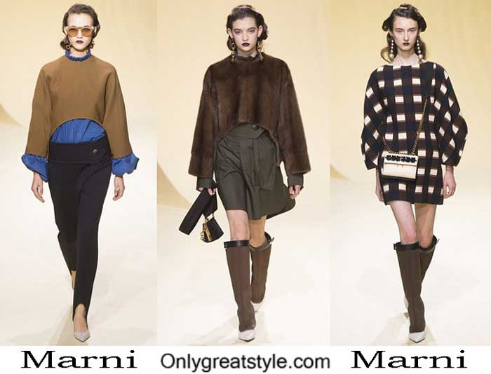 Marni Fall Winter 2016 2017 Style Brand For Women