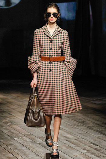 Prada Fall Winter Collection Fashion For Women Look 11