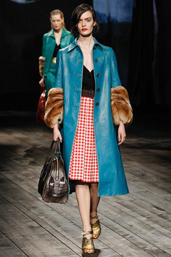 Prada Fall Winter Collection Fashion For Women Look 12