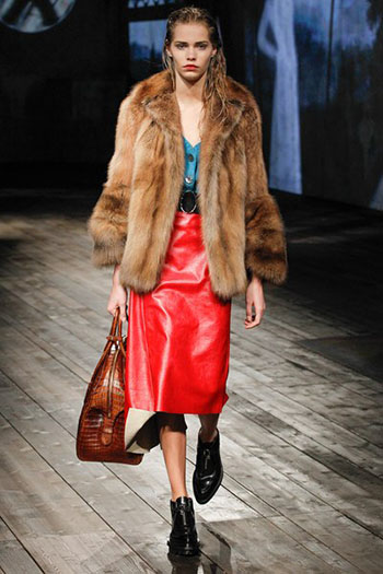 Prada Fall Winter Collection Fashion For Women Look 14