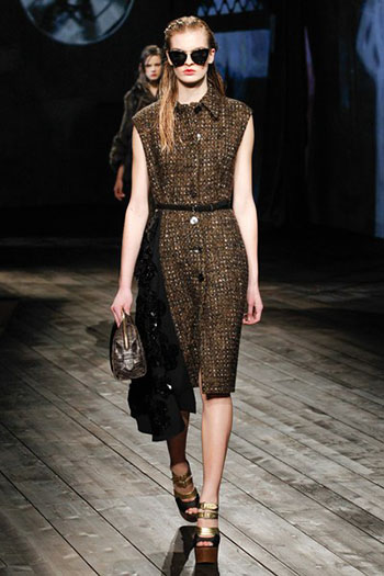 Prada Fall Winter Collection Fashion For Women Look 17