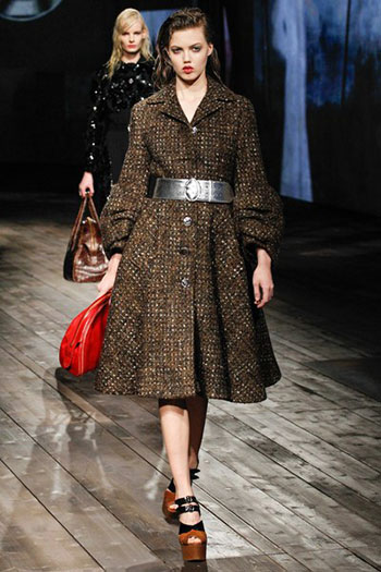 Prada Fall Winter Collection Fashion For Women Look 19