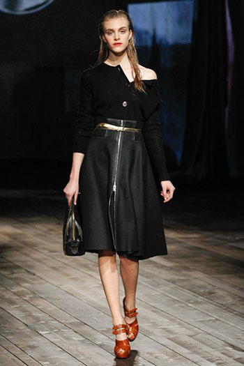 Prada Fall Winter Collection Fashion For Women Look 27