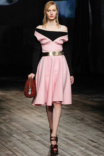 Prada Fall Winter Collection Fashion For Women Look 28