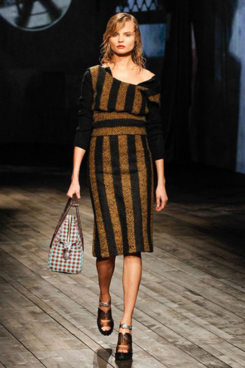 Prada Fall Winter Collection Fashion For Women Look 3