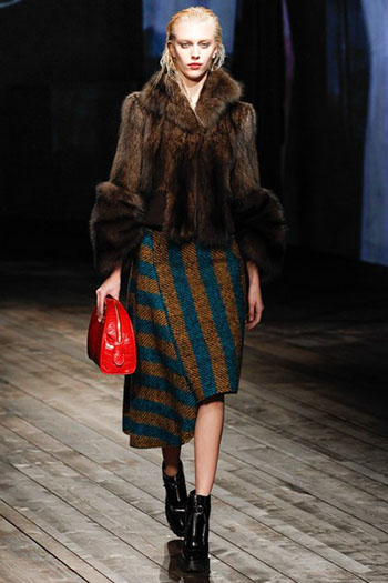 Prada Fall Winter Collection Fashion For Women Look 6