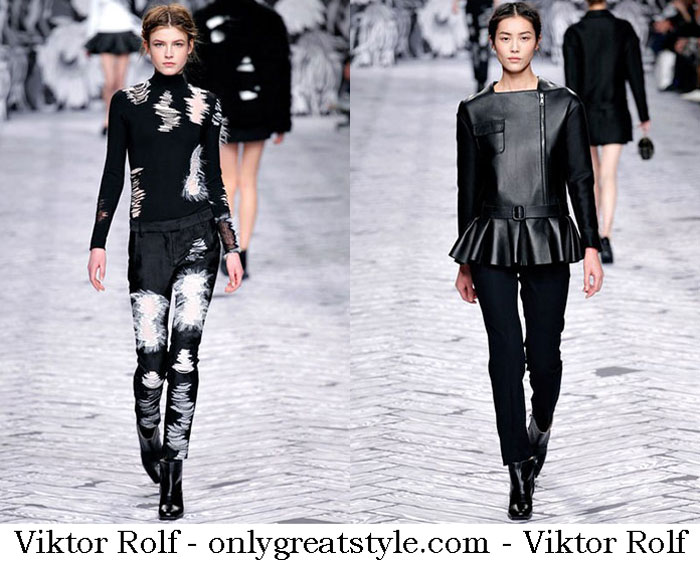 Viktor Rolf Fall Winter 2013 2014 Fashion Women
