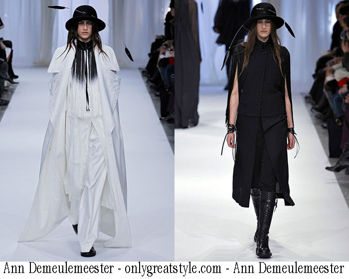 Ann Demeulemeester Fall Winter 2013 2014 Womens