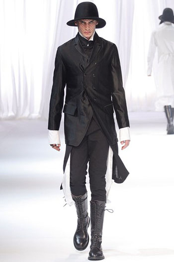 Ann Demeulemeester Fall Winter Mens Fashion Look 1
