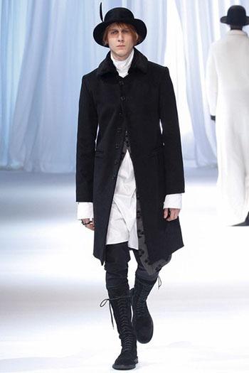 Ann Demeulemeester Fall Winter Mens Fashion Look 11