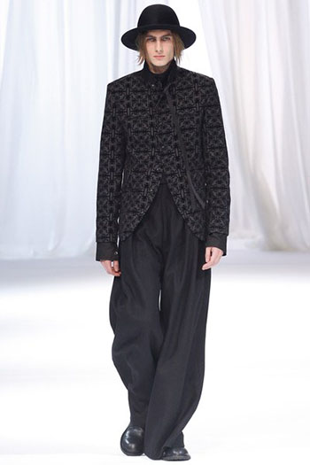 Ann Demeulemeester Fall Winter Mens Fashion Look 12