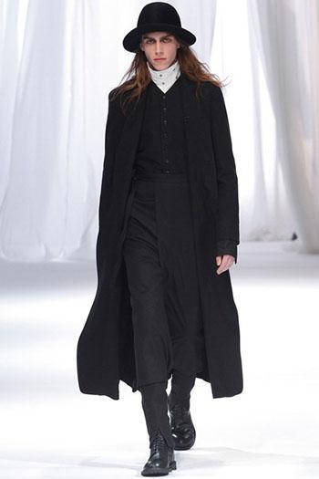 Ann Demeulemeester Fall Winter Mens Fashion Look 13