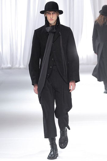 Ann Demeulemeester Fall Winter Mens Fashion Look 14