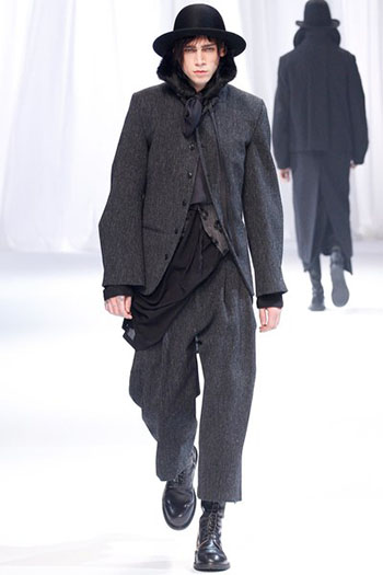 Ann Demeulemeester Fall Winter Mens Fashion Look 17