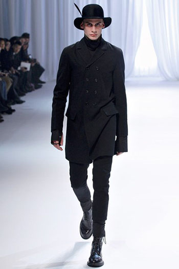 Ann Demeulemeester Fall Winter Mens Fashion Look 2