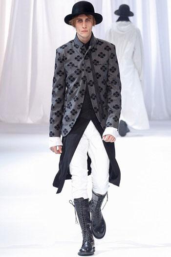 Ann Demeulemeester Fall Winter Mens Fashion Look 20