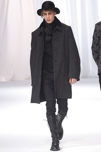 Ann Demeulemeester Fall Winter Mens Fashion Look 21