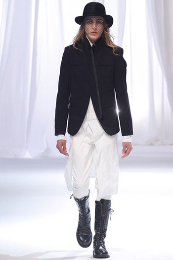 Ann Demeulemeester Fall Winter Mens Fashion Look 22
