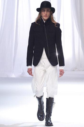 Ann Demeulemeester Fall Winter Mens Fashion Look 22