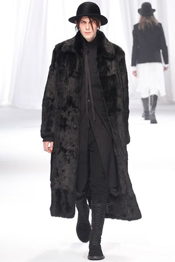 Ann Demeulemeester Fall Winter Mens Fashion Look 23