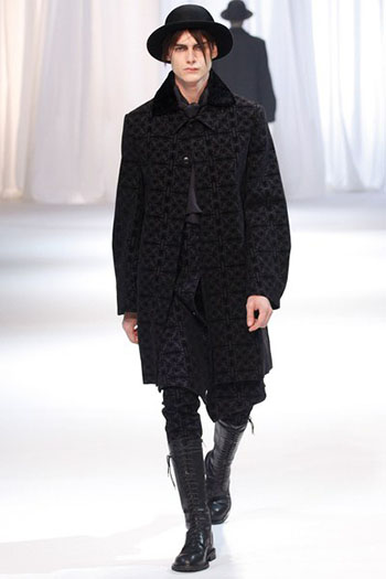 Ann Demeulemeester Fall Winter Mens Fashion Look 26