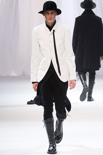 Ann Demeulemeester Fall Winter Mens Fashion Look 27