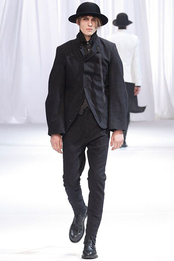 Ann Demeulemeester Fall Winter Mens Fashion Look 28