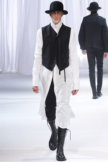 Ann Demeulemeester Fall Winter Mens Fashion Look 29