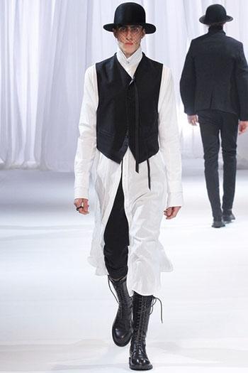 Ann Demeulemeester Fall Winter Mens Fashion Look 29