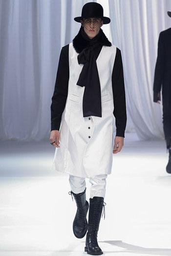 Ann Demeulemeester Fall Winter Mens Fashion Look 3