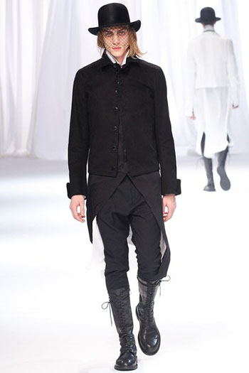 Ann Demeulemeester Fall Winter Mens Fashion Look 30