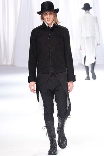 Ann Demeulemeester Fall Winter Mens Fashion Look 30