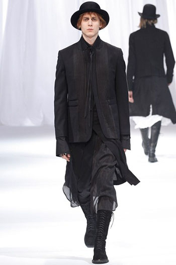 Ann Demeulemeester Fall Winter Mens Fashion Look 31