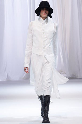 Ann Demeulemeester Fall Winter Mens Fashion Look 32