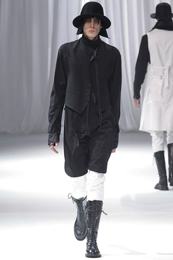 Ann Demeulemeester Fall Winter Mens Fashion Look 4