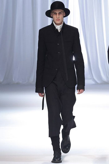 Ann Demeulemeester Fall Winter Mens Fashion Look 5