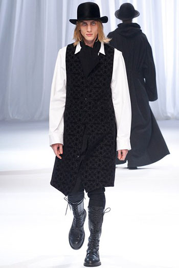 Ann Demeulemeester Fall Winter Mens Fashion Look 7