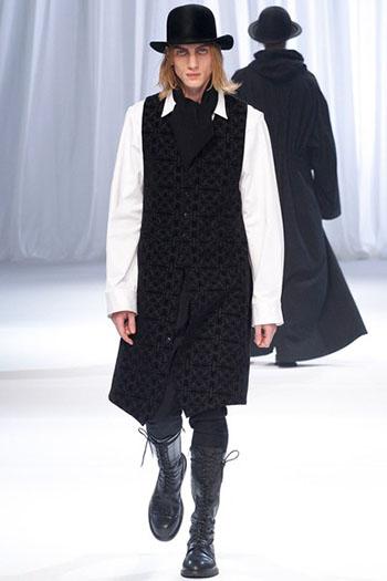 Ann Demeulemeester Fall Winter Mens Fashion Look 7
