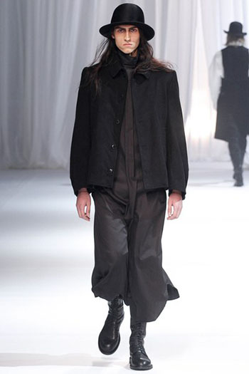 Ann Demeulemeester Fall Winter Mens Fashion Look 8