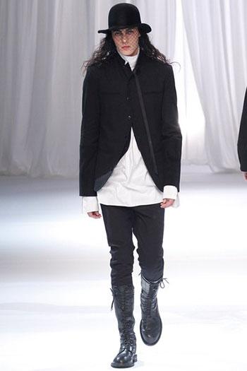 Ann Demeulemeester Fall Winter Mens Fashion Look 9