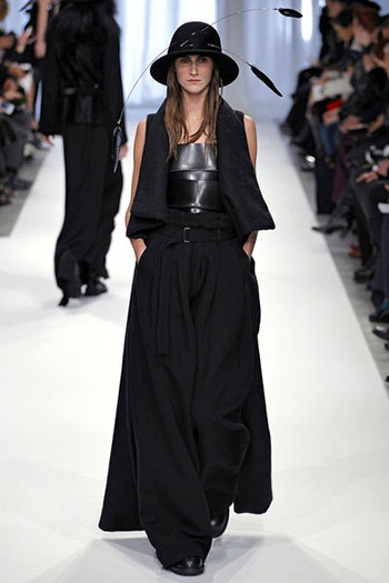 Ann Demeulemeester Fall Winter Womens Wear Fashion 1