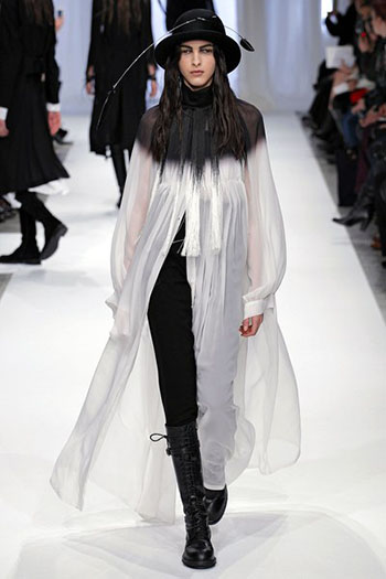 Ann Demeulemeester Fall Winter Womens Wear Fashion 10