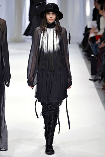 Ann Demeulemeester Fall Winter Womens Wear Fashion 11