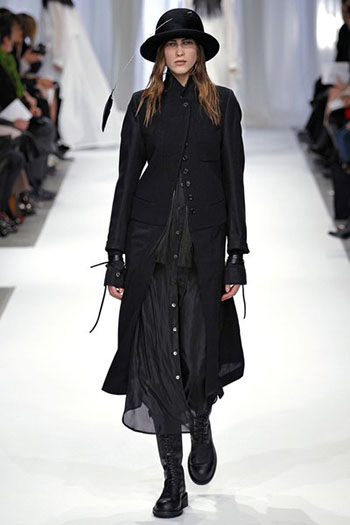 Ann Demeulemeester Fall Winter Womens Wear Fashion 12