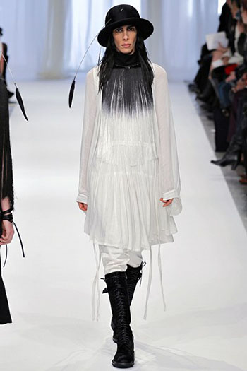 Ann Demeulemeester Fall Winter Womens Wear Fashion 13