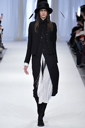 Ann Demeulemeester Fall Winter Womens Wear Fashion 5