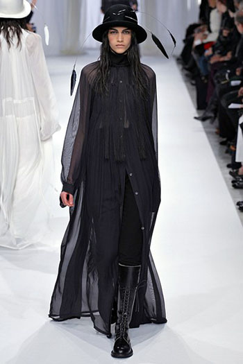 Ann Demeulemeester Fall Winter Womens Wear Fashion 6